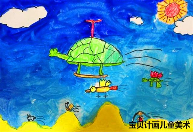 动物美术大全儿童画图片