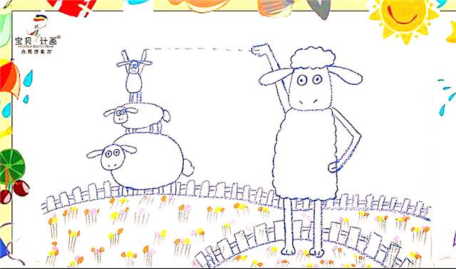 以上宝贝计画儿童美术老师线上教程-小羊肖恩的绘画课程哦!希望能帮助喜欢画画的小朋友和喜欢小羊肖恩的宝宝们。这是我们1元就能买150期绘画课程专辑中的一期哦,更多绘画课程提供给大家,希望大家喜欢。下载宝贝计画app观看更多儿童美术绘画课程,可上传宝宝画作,有专业老师点评指导呢!
