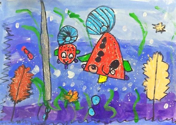 幼儿园小班大班美术教案