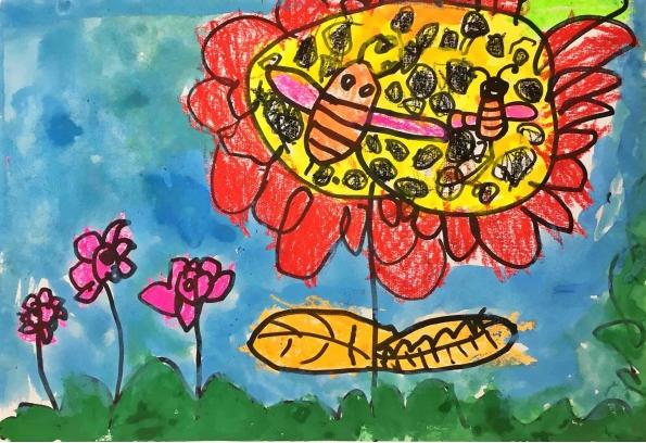 幼儿园小班美术教案大全:涂色为主,毛毛虫,棒棒糖,吹泡泡,小花伞,小鱼